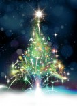Firework Christmas Tree