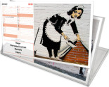 Banksy<br>Long CD Calendar